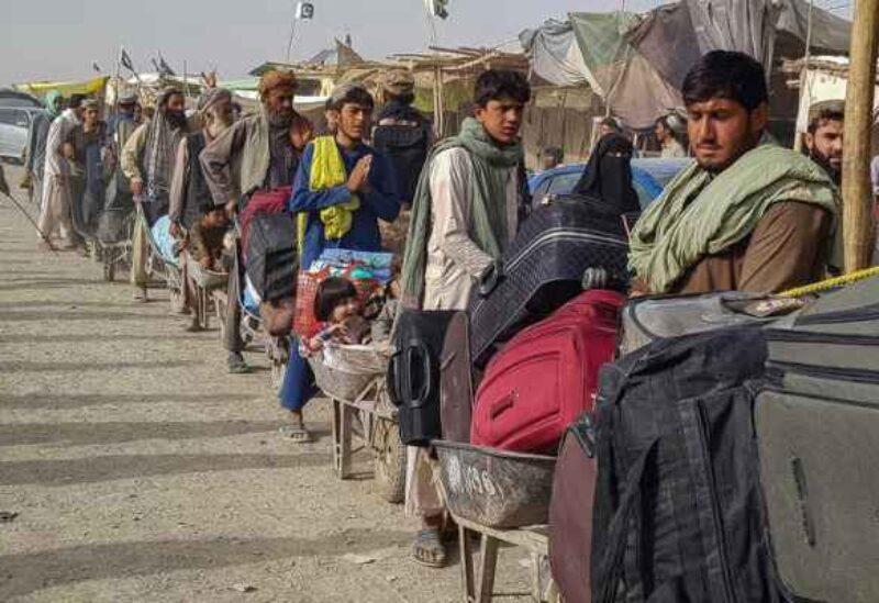 Les réfugiés afghans - Archive