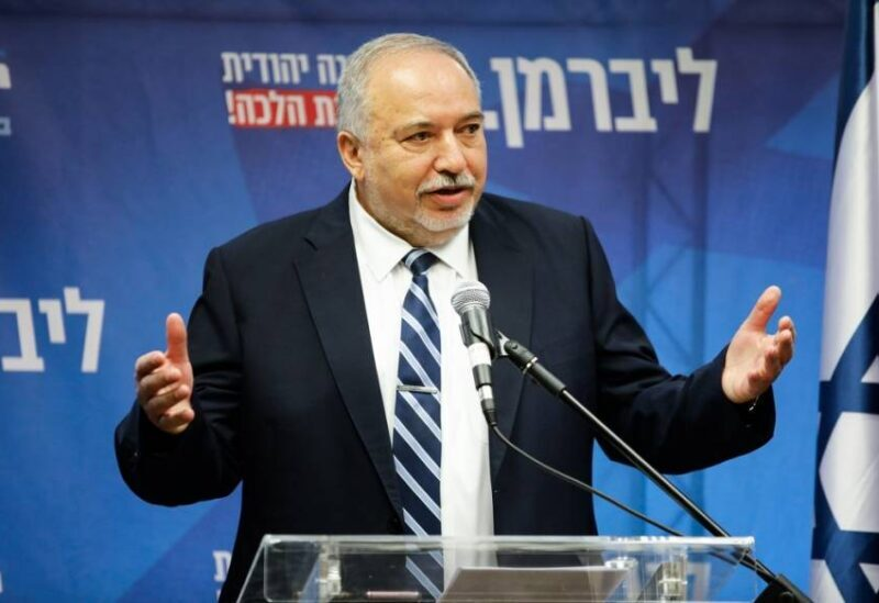 Le ministre israélien des Finances Avigdor Lieberman
