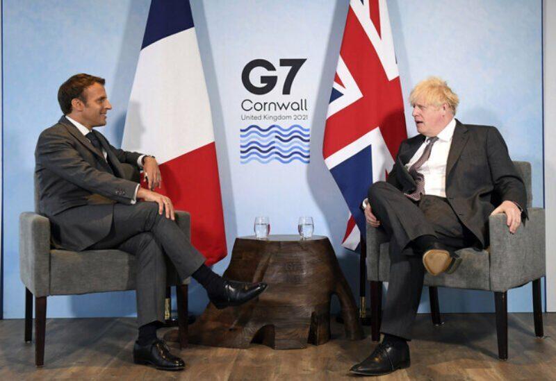 Macron et Johnson