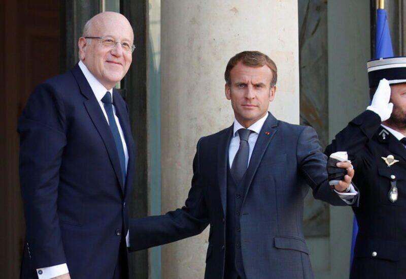 Macron et Mikati