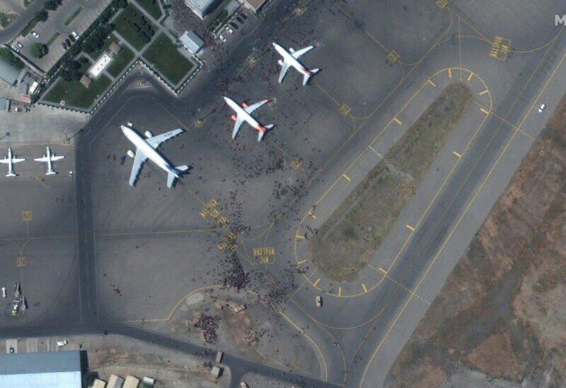 L'aéroport de Kaboul en Afghanistan