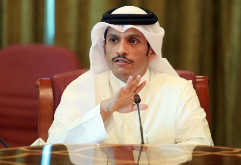 Le ministre qatari des Affaires étrangères Mohammed bin Abdulrahman Al Thani