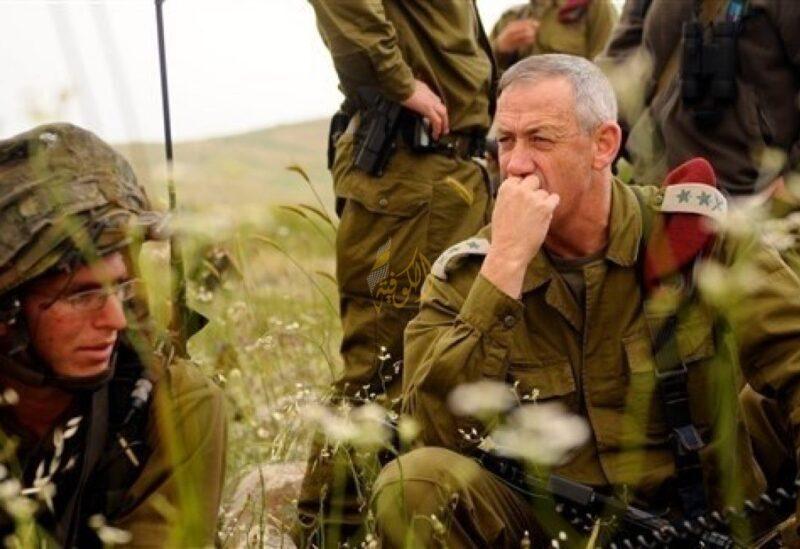 Le ministre israélien de la Défense, Benny Gantz