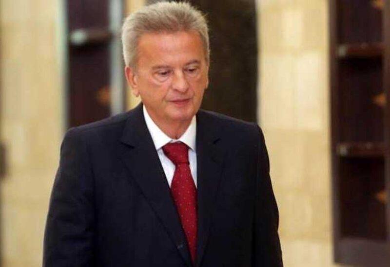 Gouverneur de la Banque du Liban Riad Salameh