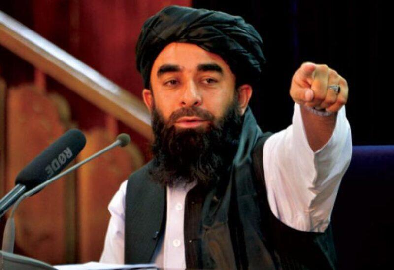 Le porte-parole des talibans, Zabihullah Mujahid