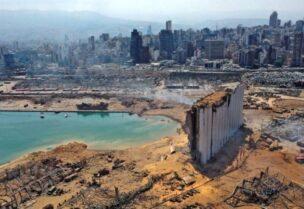 Dégâts causés par l'explosion du port de Beyrouth