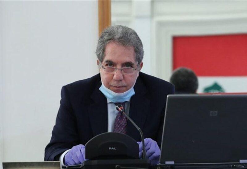 Le ministre des Finances du gouvernement intérimaire, Ghazi Wazni