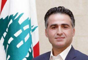 Le ministre des Travaux publics et des Transports, Ali Hamiyeh