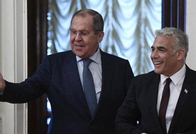 Les ministres des affaires étrangères de Russie et d'Israël
