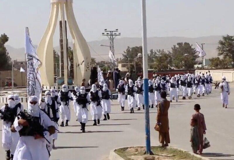 Les soldats des Talibans