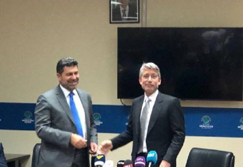 Les ministres Fayad et Ghajar