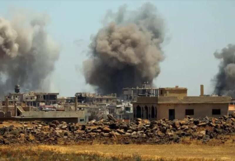 Bombardement à Daraa - Archives