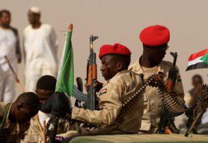 Éléments de l'armée soudanaise - Archives