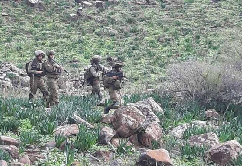 Des soldats de l'armée d'occupation israélienne