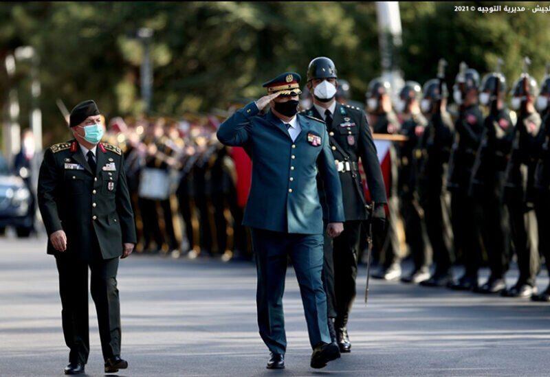 Le commandant en chef de l'armée Joseph Aoun lors de sa visite en Turquie