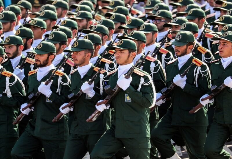 Gardiens de la révolution iraniens