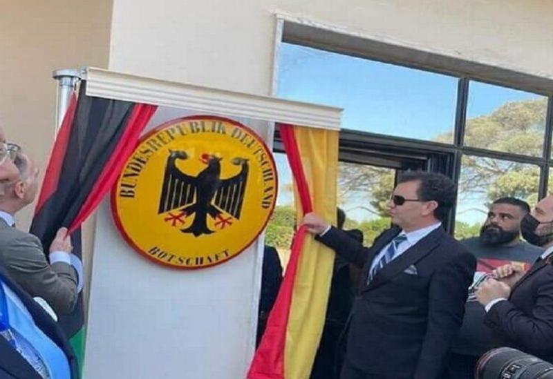 L'Ambassade d'Allemagne à Tripoli