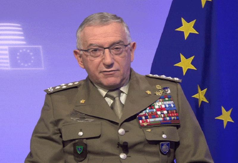 Le Général Claudio Graziano, Le Président de la Commission militaire de l'Union européenne