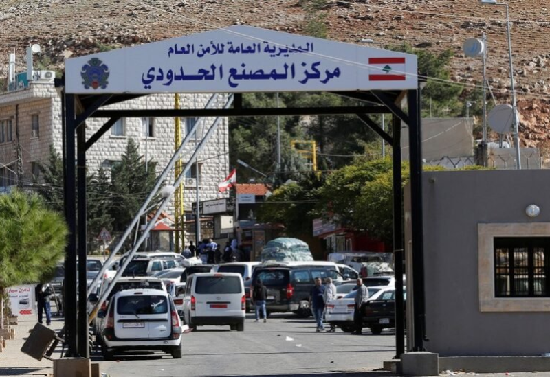 Le Poste frontière d'Al-Masnaa entre le Liban et la Syrie- Reuters JAMAL SAIDI