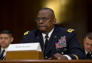Le secrétaire américain à la Défense Lloyd Austin