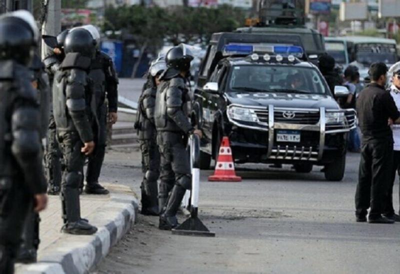 Les éléments de la police égyptienne