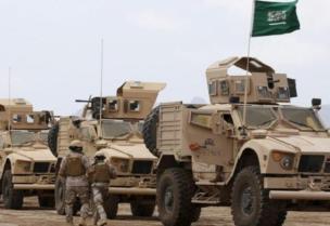 Les forces de la coalition pour soutenir la légitimité au Yémen