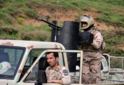 Les gardes-frontières iraniens