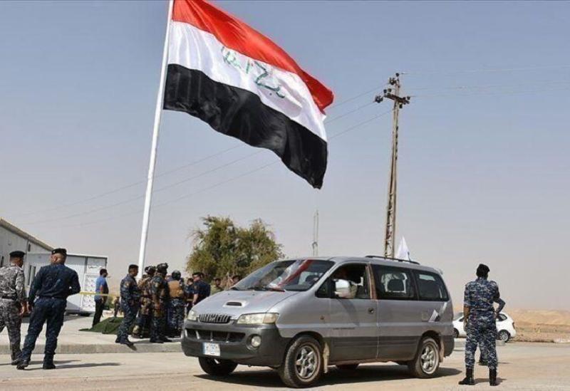 Les membres de la police irakienne