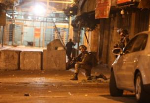 Les membres de l'armée d'occupation