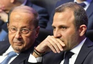 Michel Aoun et Gebran Bassil
