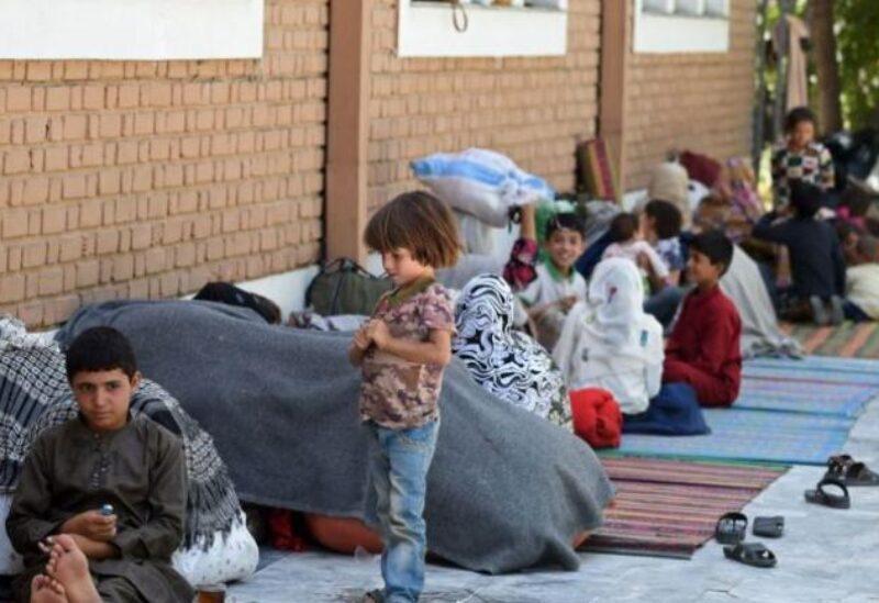 Réfugiés afghans - Archives