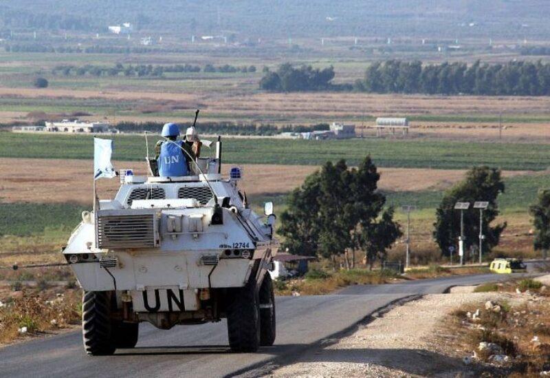 Les forces de la FINUL au Sud du Liban