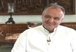 Le ministre de l'Industrie, Georges Bouchikian