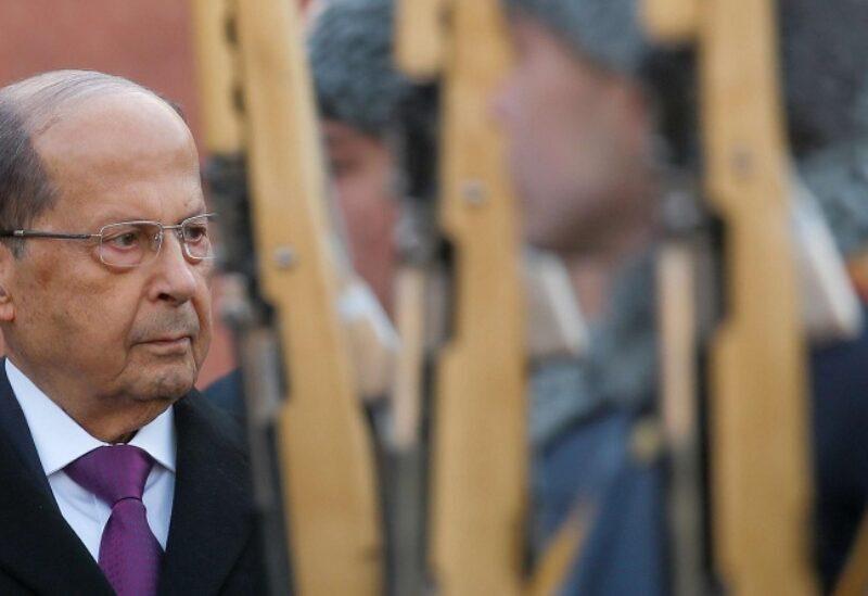 Michel Aoun au Palais de Baabda