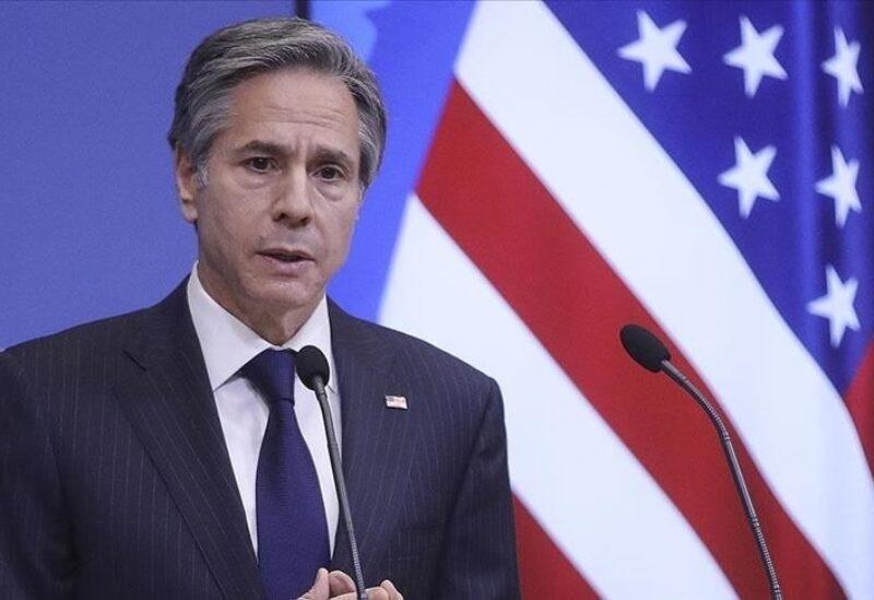 Le secrétaire d'État américain Antony Blinken