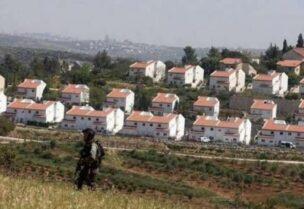 Israël continue à construire des colonies en Cisjordanie