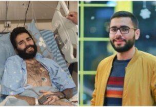 Les deux prisonniers palestiniens en grève de la faim, Miqdad Al-Qawasma et Kayed Al-Fasfous