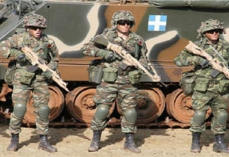 L'armée grecque - archive