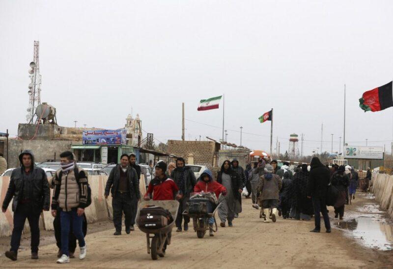 Les réfugiés afghans