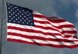 Le drapeau de l'Amérique