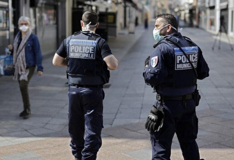 Des membres de la police française