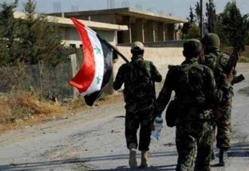 Des membres de l'armée du régime syrien - Archive