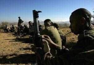 Membre des forces de Tigré