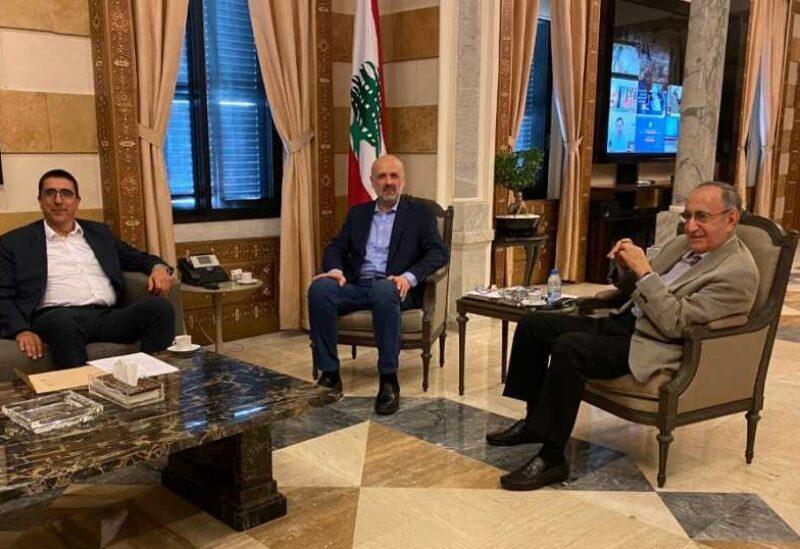 Une rencontre entre Mawlawi et Hajjar