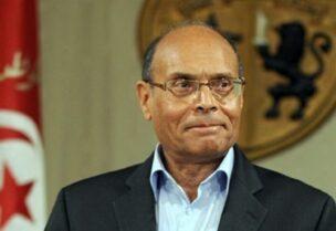 L'ancien président tunisien, Moncef Marzouki