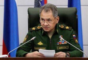 Le ministre russe de la Défense, Sergueï Shoigou