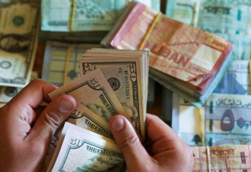 La livre libanaise et le dollar
