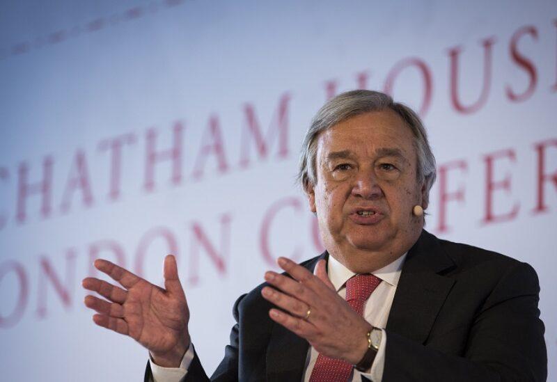 Le Secrétaire général des Nations Unies, António Guterres