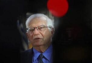 Le haut représentant de l'Union européenne pour les affaires étrangères Josep Borrell