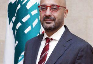 Le ministre de l'environnement, Nasser Yassine